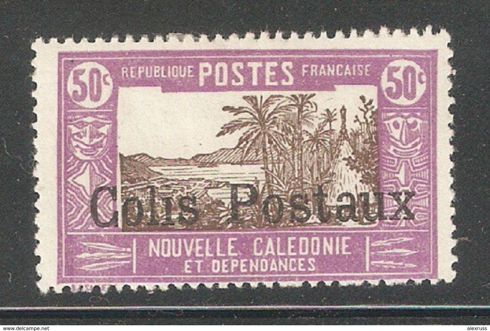 New Caledonia 1930,50c Colis Parcel Post,Sc Q4,VF Mint Hinged* (K-8) - New Caledonia
