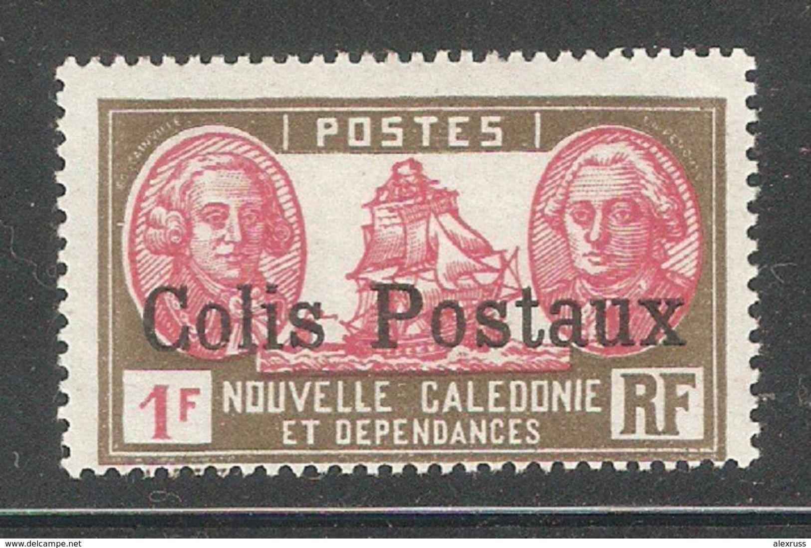 New Caledonia 1930,1fr Colis Parcel Post,Sc Q5,VF Mint Hinged* (K-8) - New Caledonia