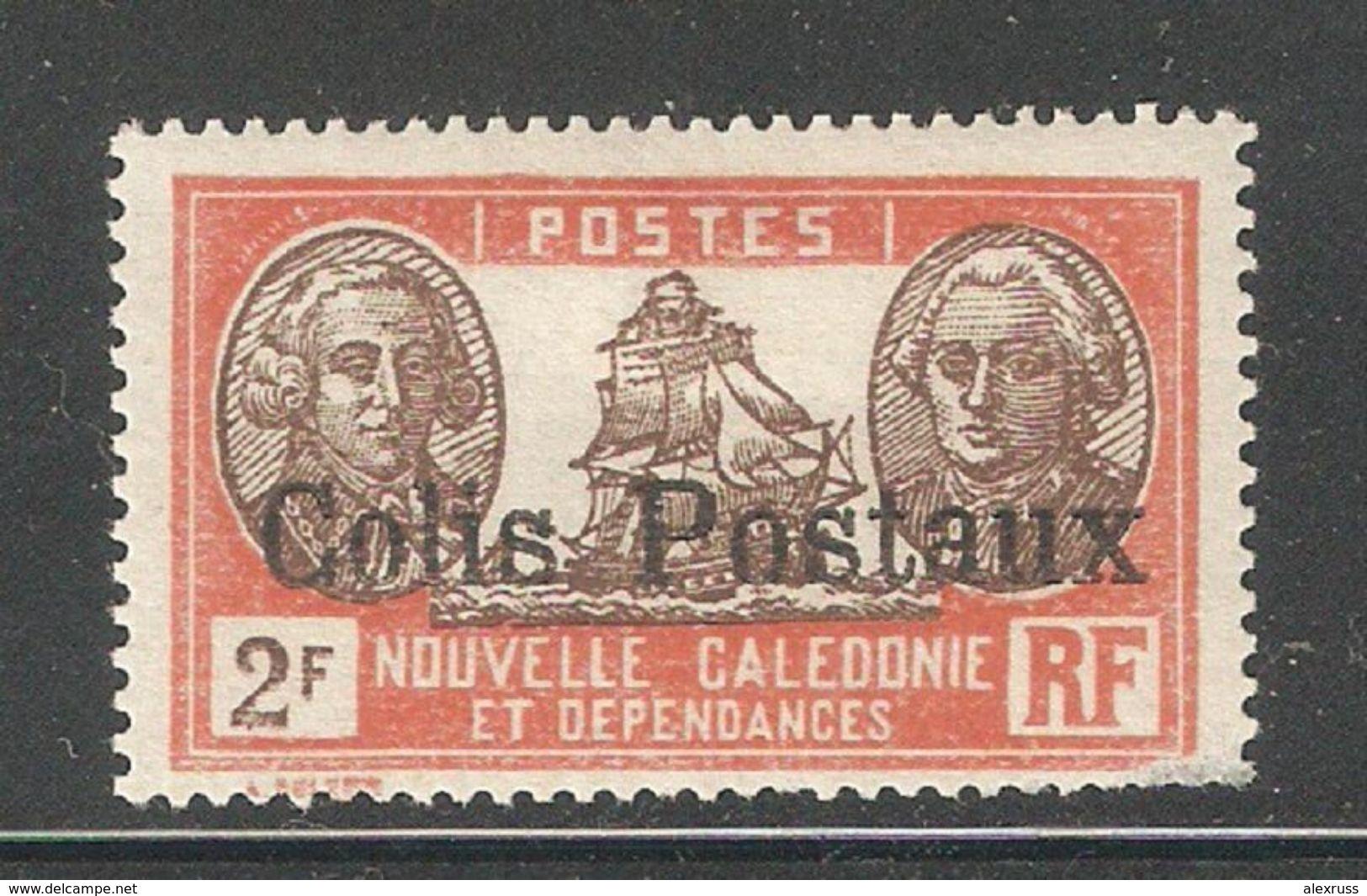New Caledonia 1930,2fr Colis Parcel Post,Sc Q6,Fine Mint Hinged* (K-8) - New Caledonia