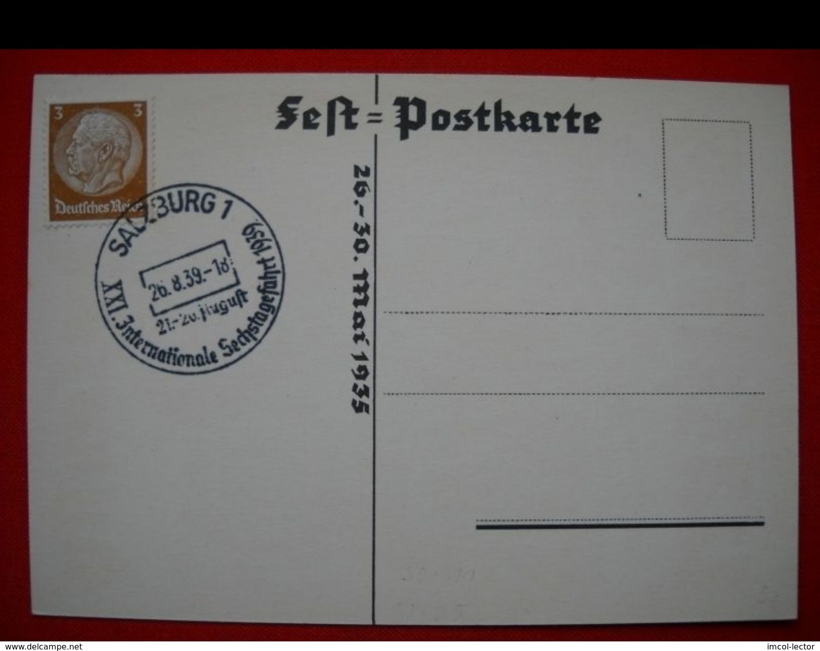 2326 AK Bautzen Lausitz Fest 1939 Gel - Briefe U. Dokumente
