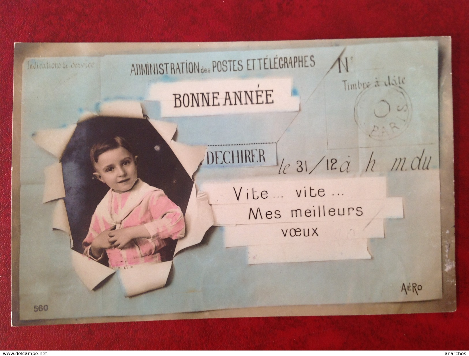 Télégramme - Postal Services