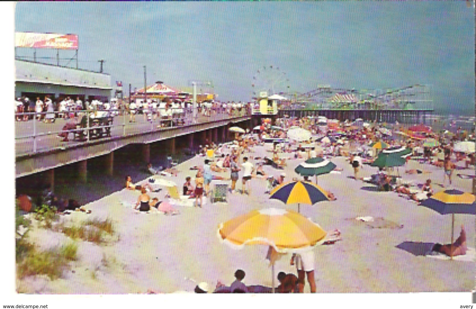 Boardwalk And Beach View, Wildwood, New Jersey - Other