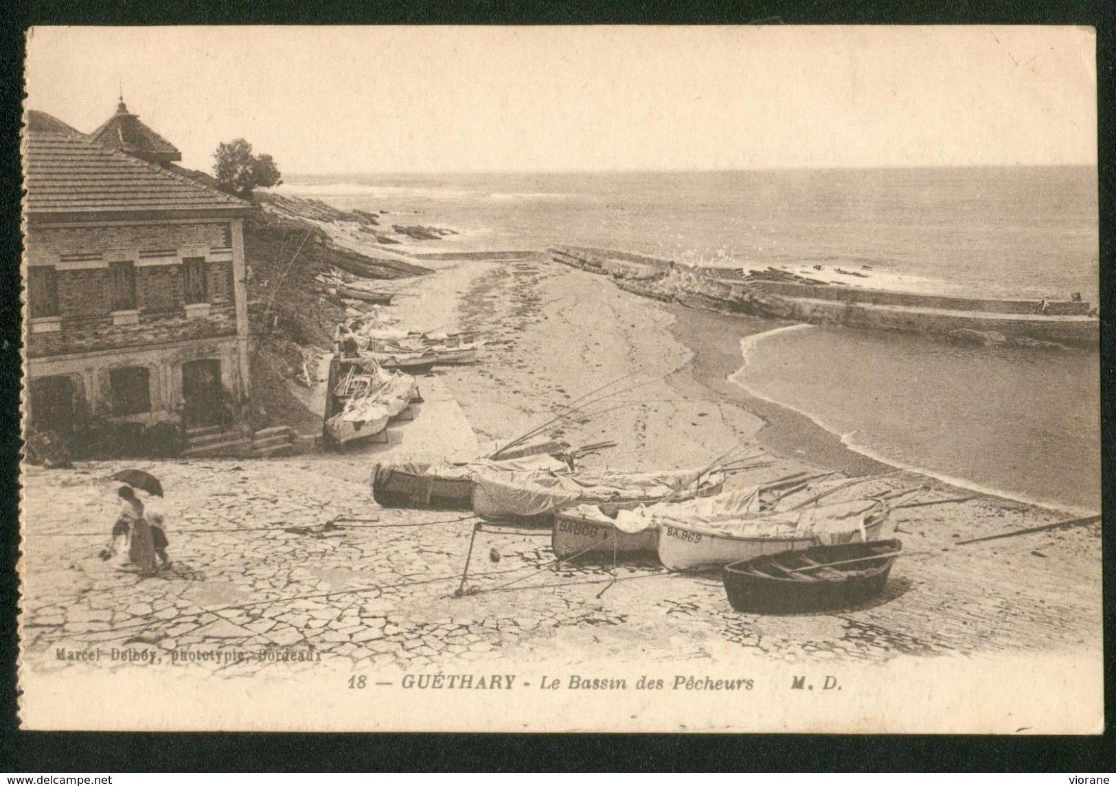 Le Bassin Des Pêcheurs - Guethary
