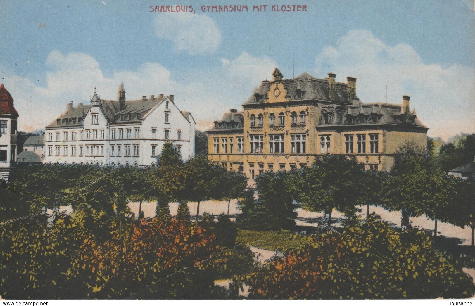 17 / 6 / 264  -    SAARLOUIS, GYMNASIUM  MIT  KLOSTER - Germania