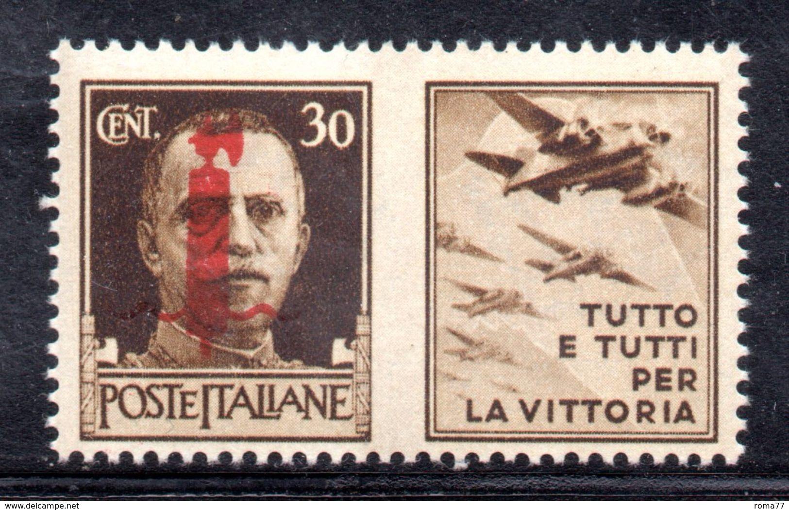XP3210 - RSI , Propaganda Di Guerra Il Valore Da 30 Cent (tutto E Tutti ...) ** MNH - 4. 1944-45 Repubblica Sociale