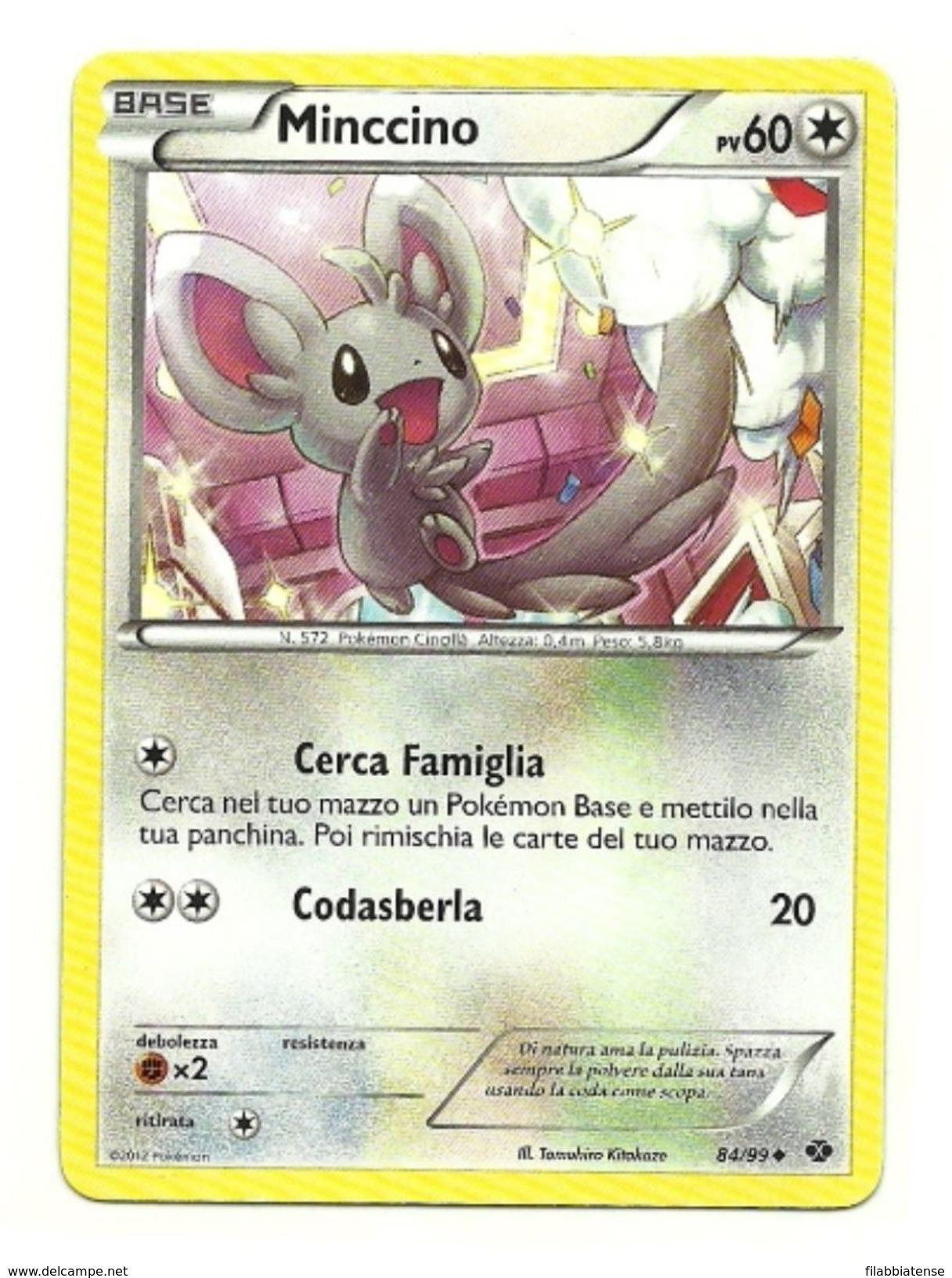 Pokemon - Minccino, - Pokemon