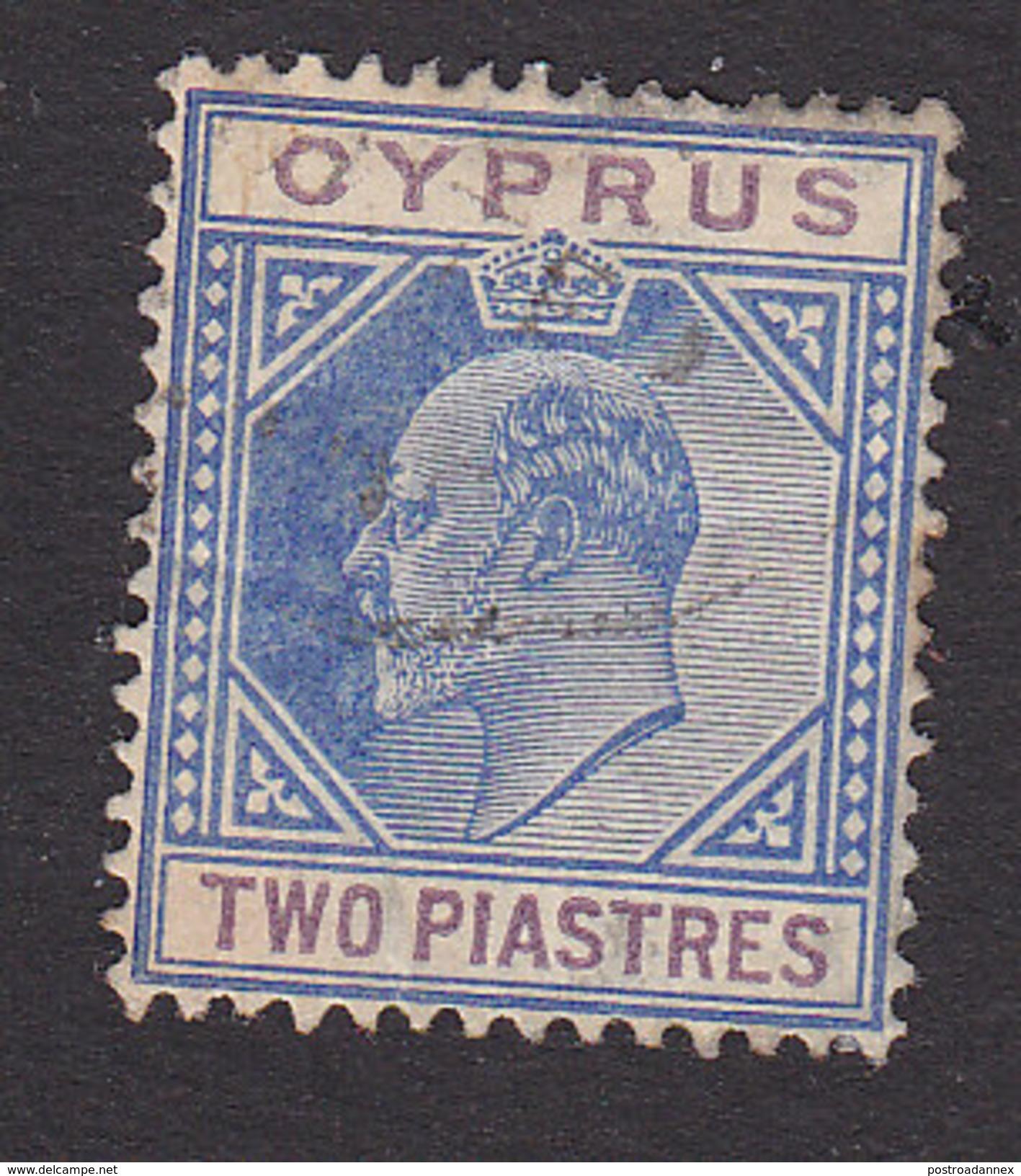 Cyprus, Scott #65, Used, King George V, Issued 1912 - Cyprus (...-1960)