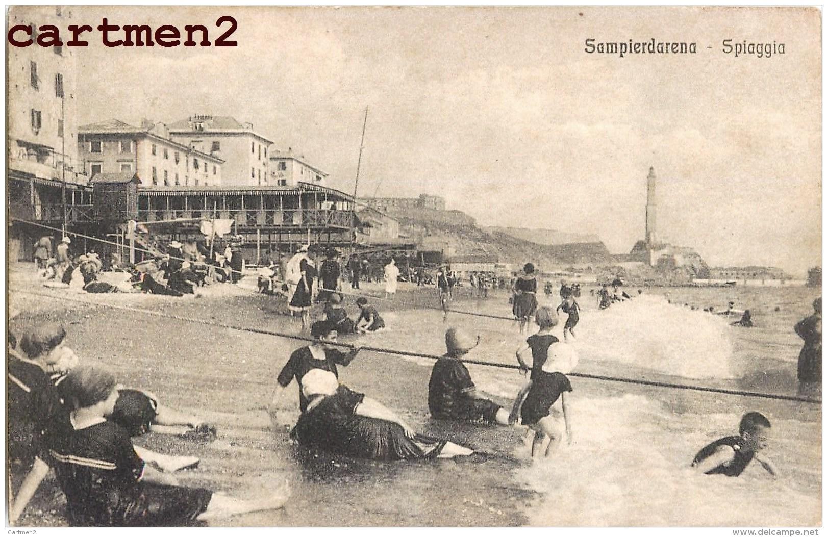 SAMPIERDARENA SPIAGGIA ITALIA - Genova