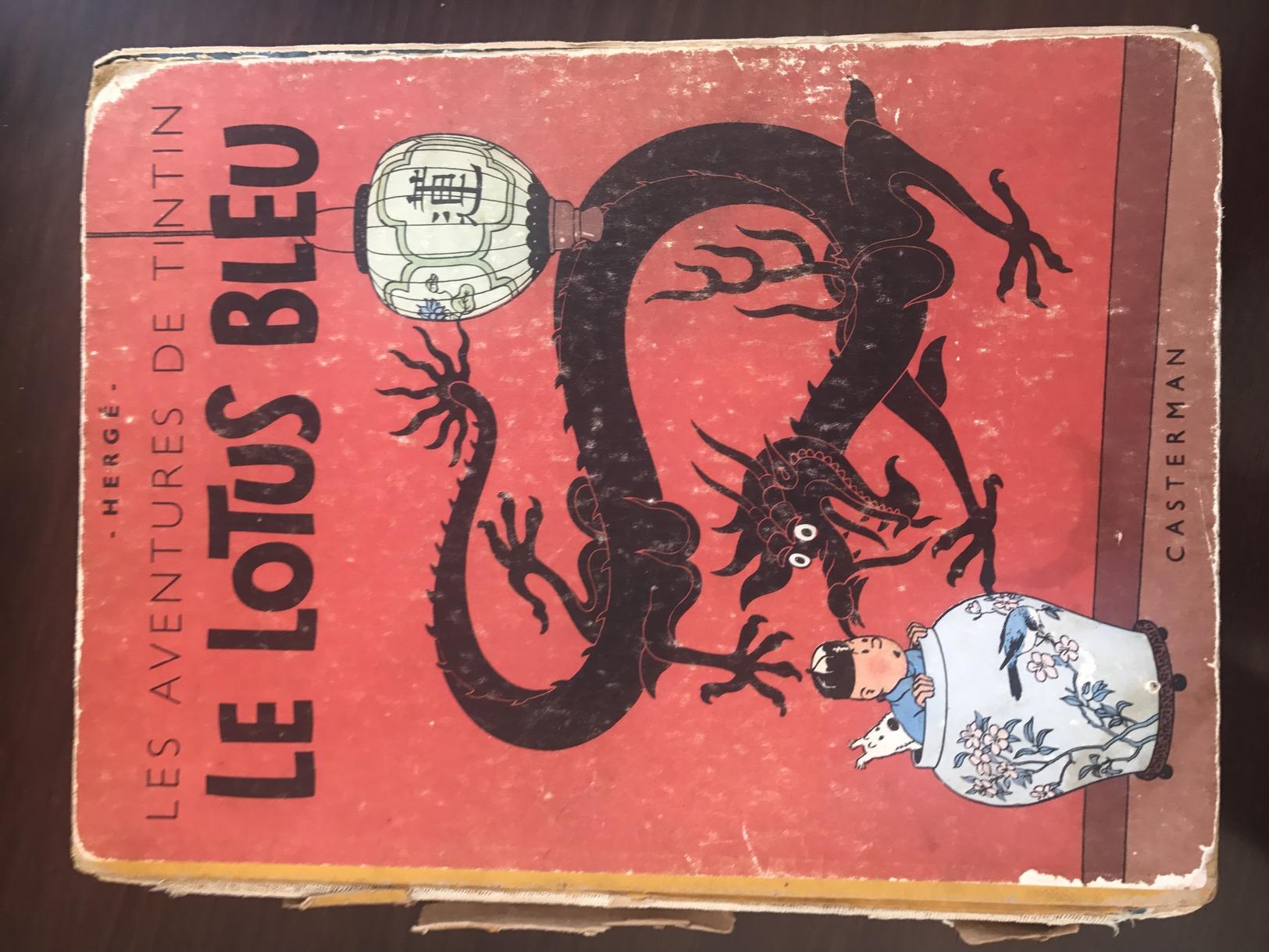 Le Lotus Bleu - Edition 1946 - Tintin