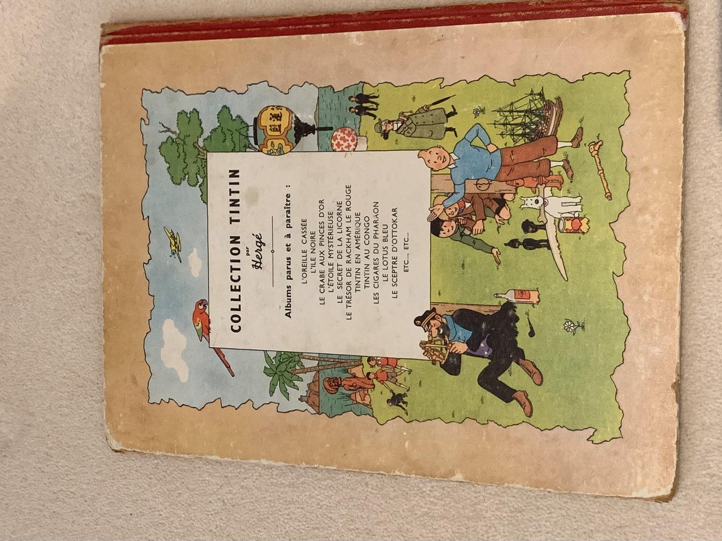 Le Sceptre D'Ottokar - Edition 1947 - Tintin