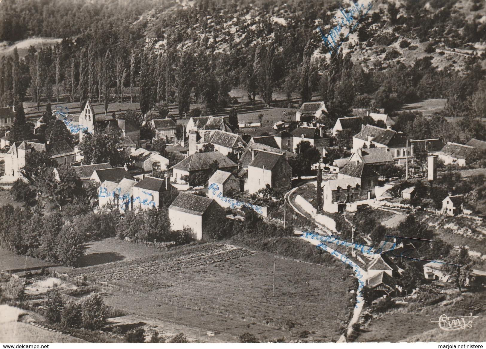 Dép. 46 - MOTTE-FENELON. - Vue Aérienne. Combier. N° 181-28 A - Gourdon