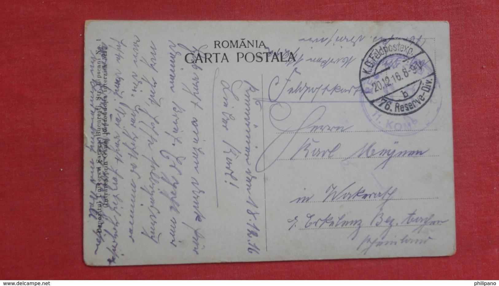 Romania Campina Eruptia Sondei No. 12 -ref-2612 - Rumänien