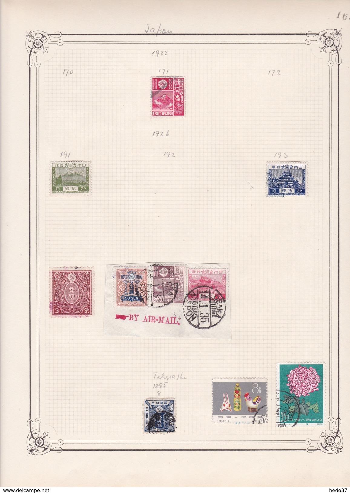 Japon - Collection Vendue Page Par Page - Timbres Neufs */ Oblitérés - B/TB - Japon