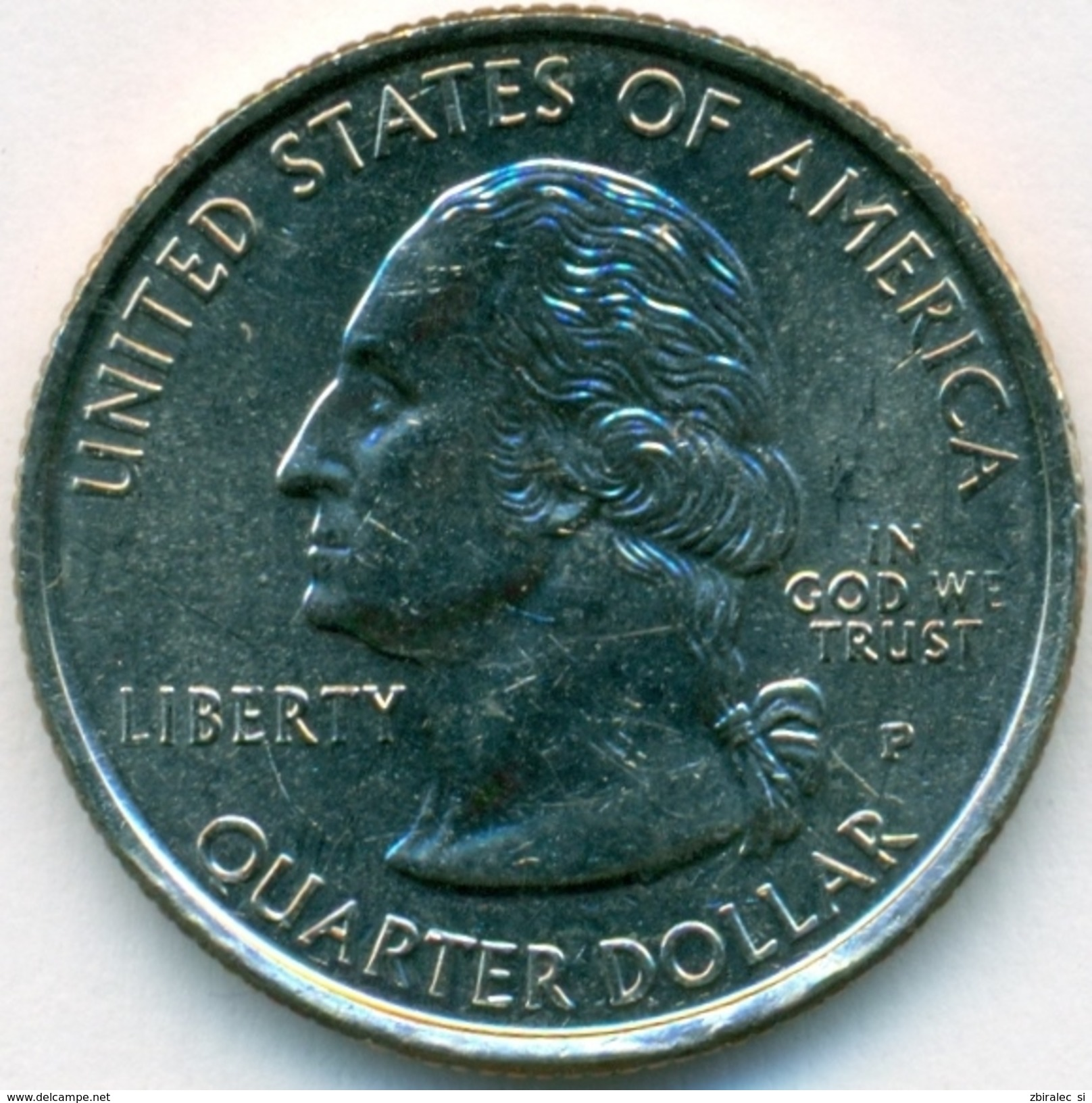 USA 25 Cent Quarter Dollar 1999 UNC State Georgia (KM# 296) - Federal Issues
