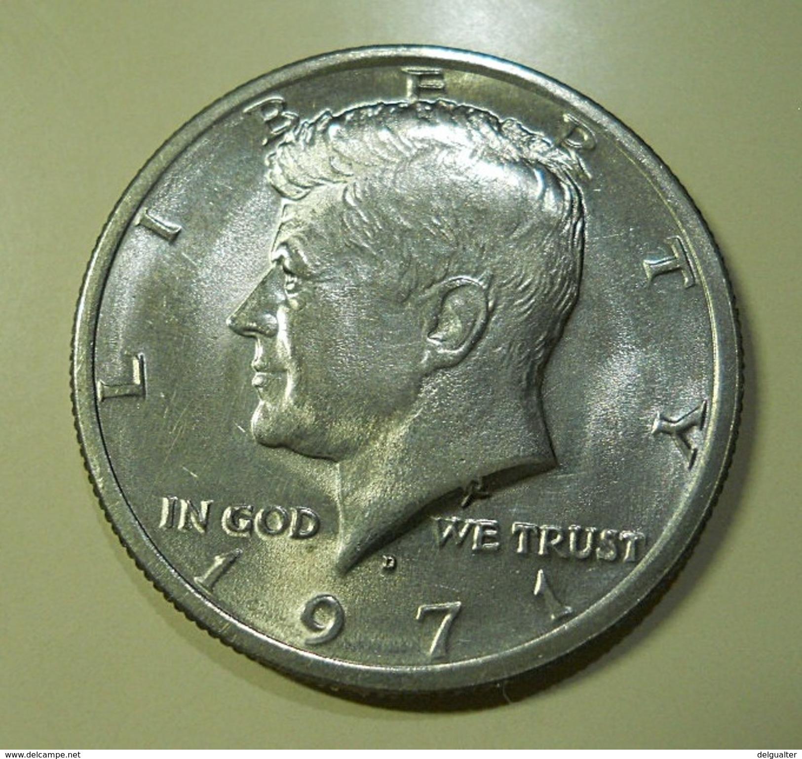 USA 1/2 Dollar 1971 D - 1964-…: Kennedy
