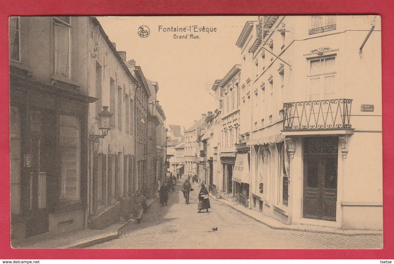 Fontaine-l'Evêque - Grand'Rue ( Voir Verso ) - Fontaine-l'Evêque