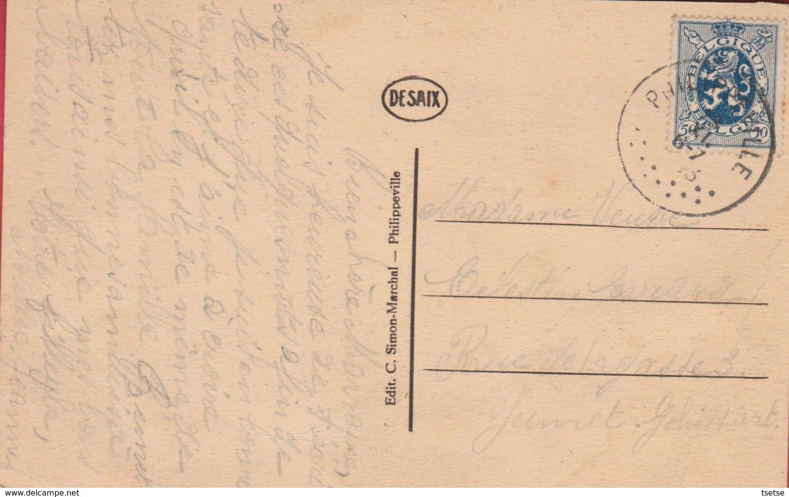 Philippeville -  Intérieur De L'Eglise - 1943 ( Voir Verso ) - Philippeville