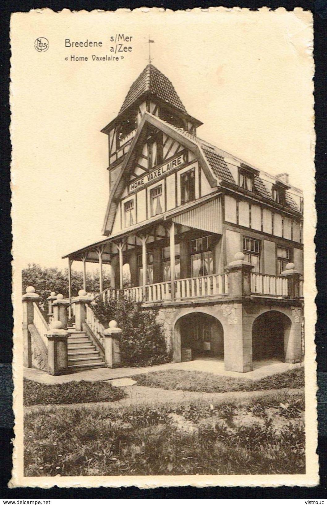 BREDENE / BREDUNES - Home VAXELAIRE - Circulé - Circulated - Gelaufen - 1951. - Bredene