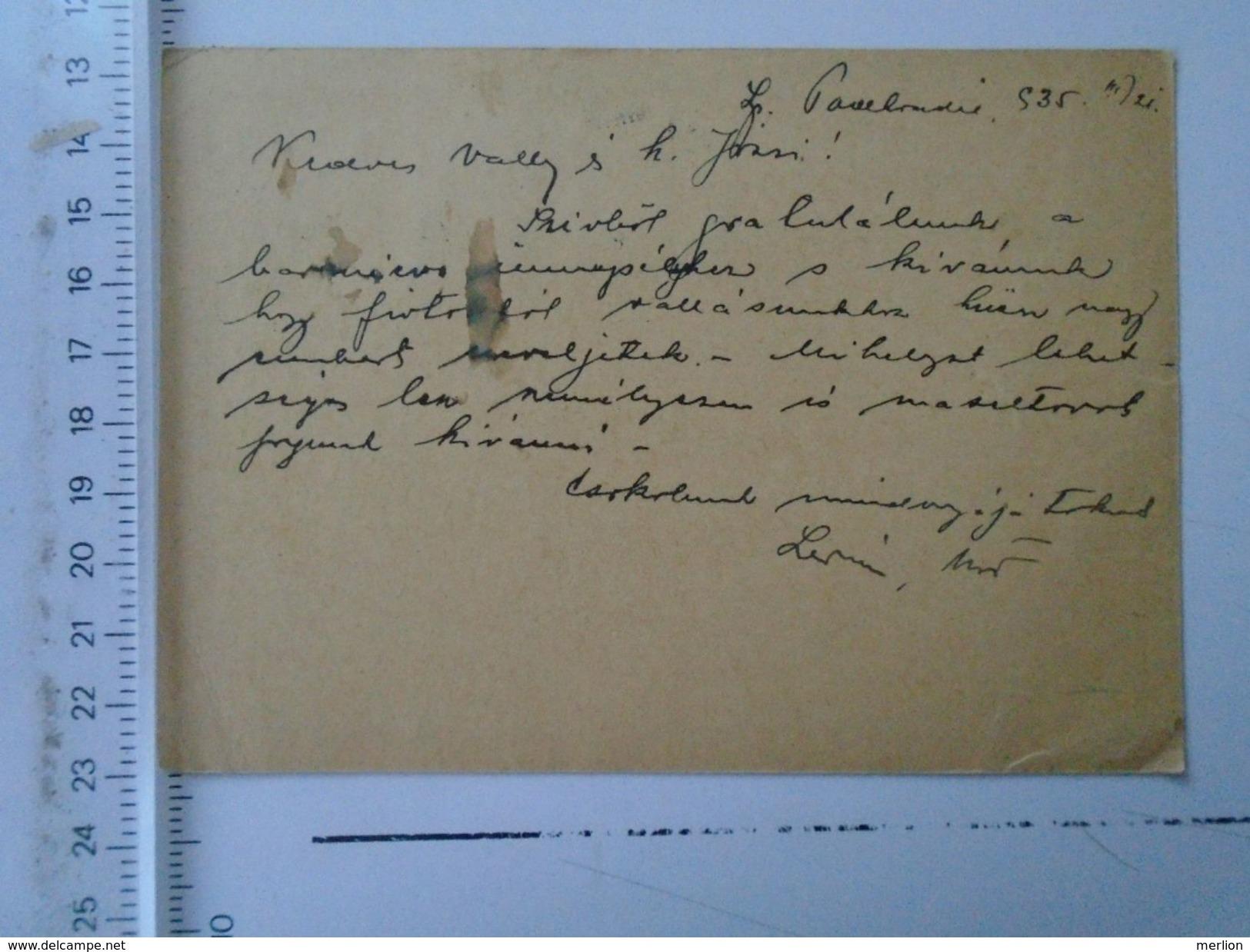 D151194 Ceskoslovensko - Spisska Podhradie  1935  Postal Stationery - Tschechoslowakei/CSSR