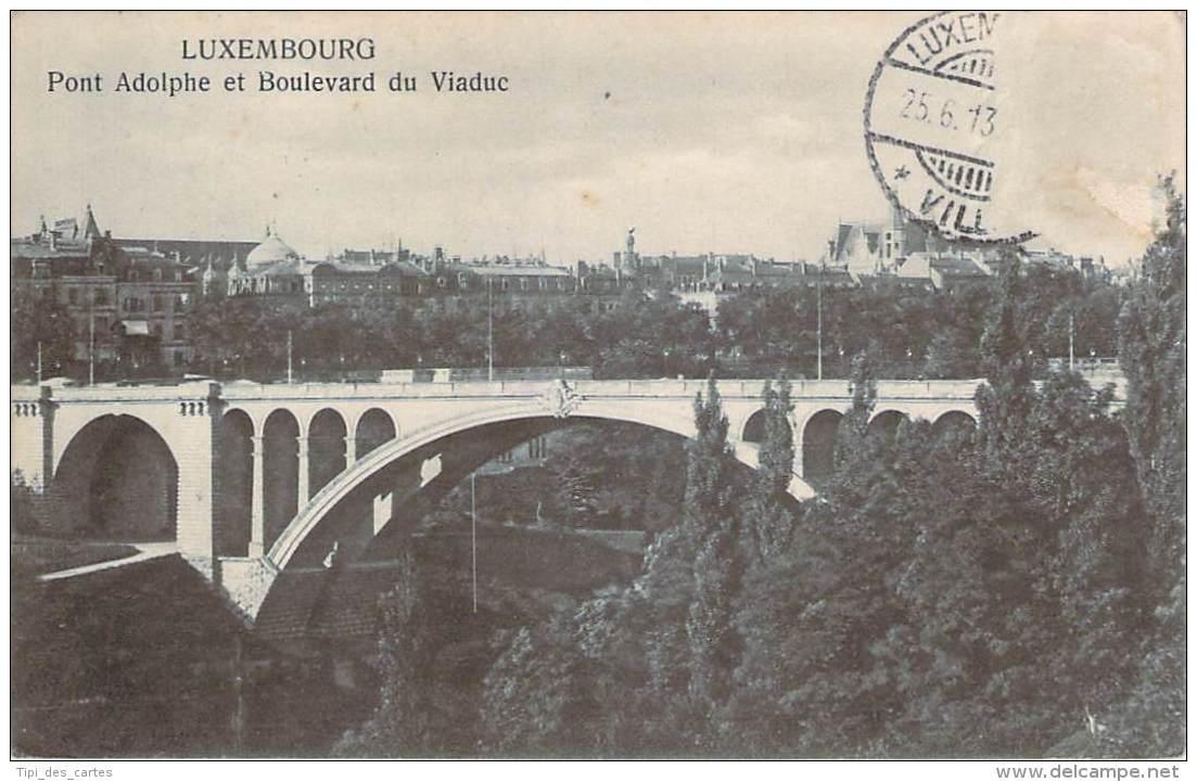 Luxembourg - Pont Adolphe Et Boulevard Du Viaduc - Luxembourg - Ville