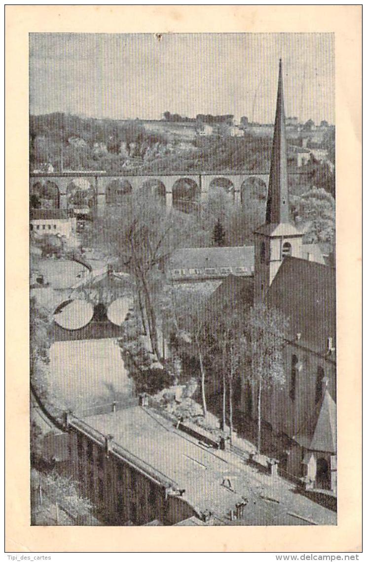 Luxembourg - Vue Sur La Ville Basse, Eglise Saint-Jean - Luxembourg - Ville