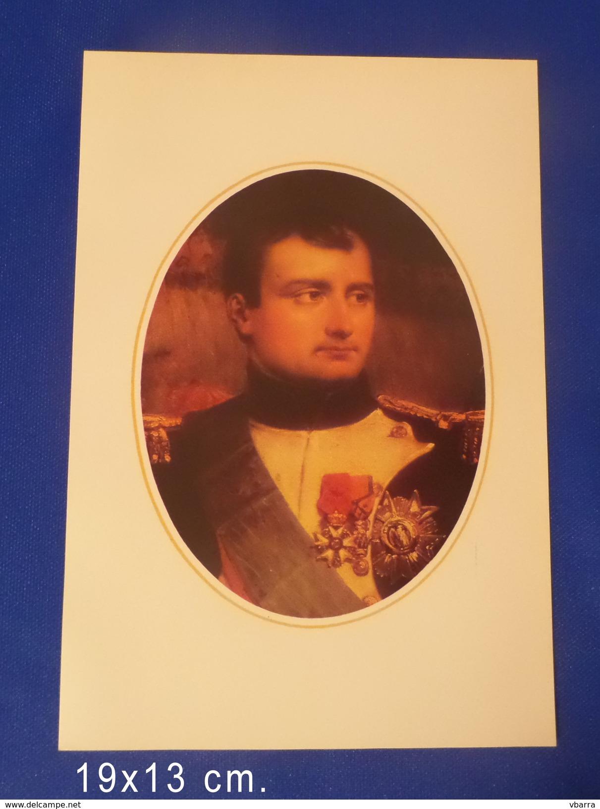 4 Gravures De Napoléon En Papier Couché - Otros