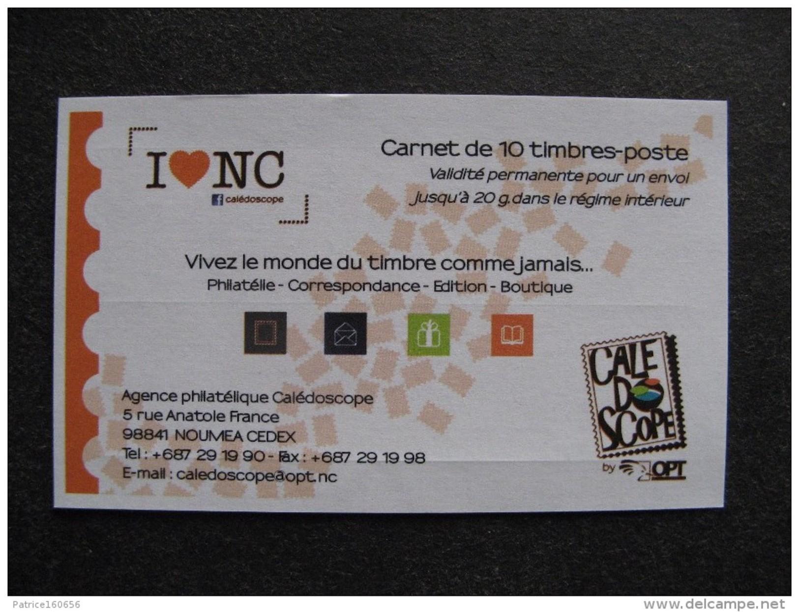 Nouvelle-Calédonie: TB Carnet  N° C 1100 - 4, Daté Du 30.06.2014, Neuf XX . - Markenheftchen