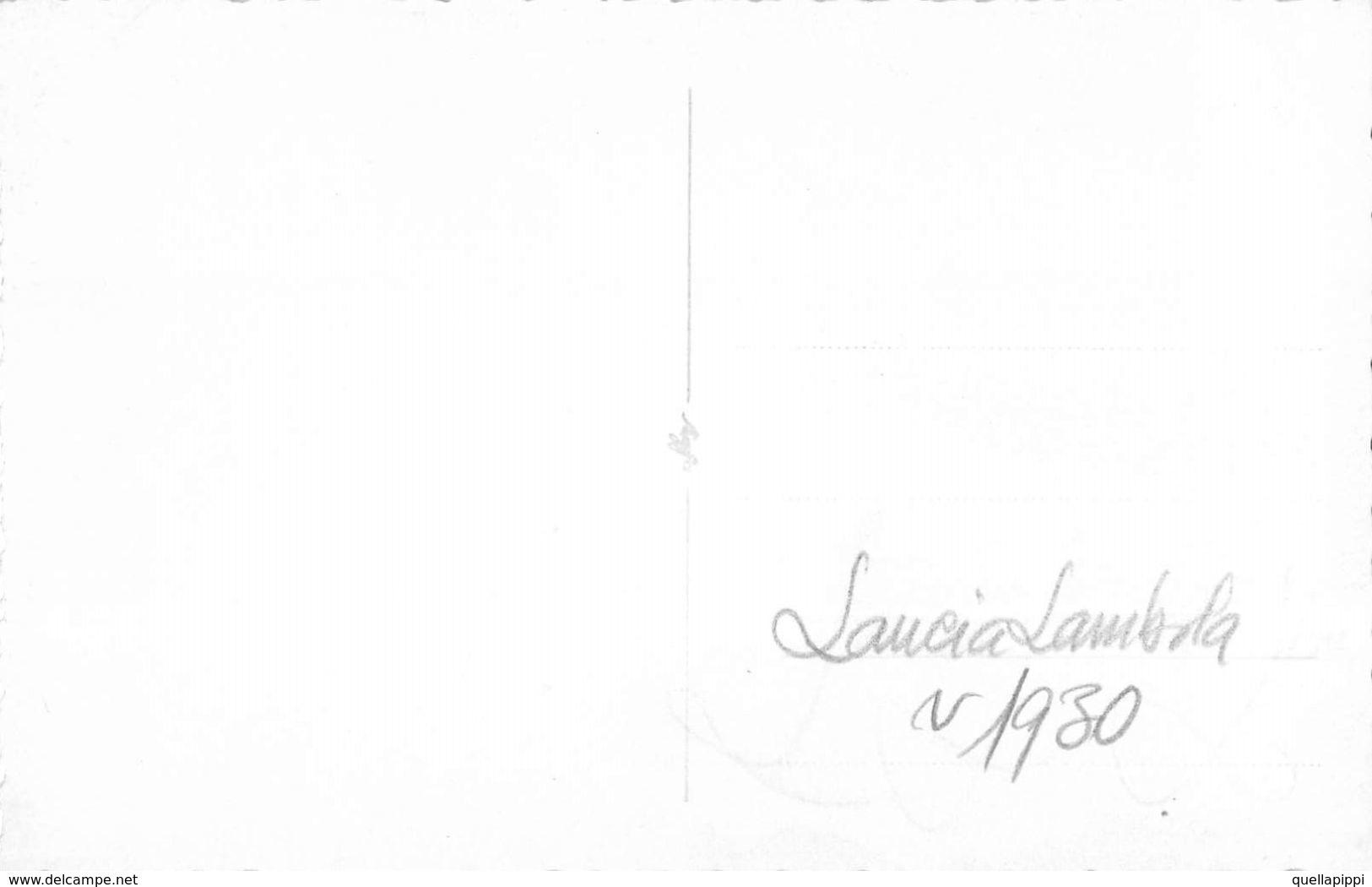 """D6069 """"LANCIA LAMBDA - ANNI 30 - XX SECOLO""""   ANIMATA - FOTO ORIGINALE - Automobili"""