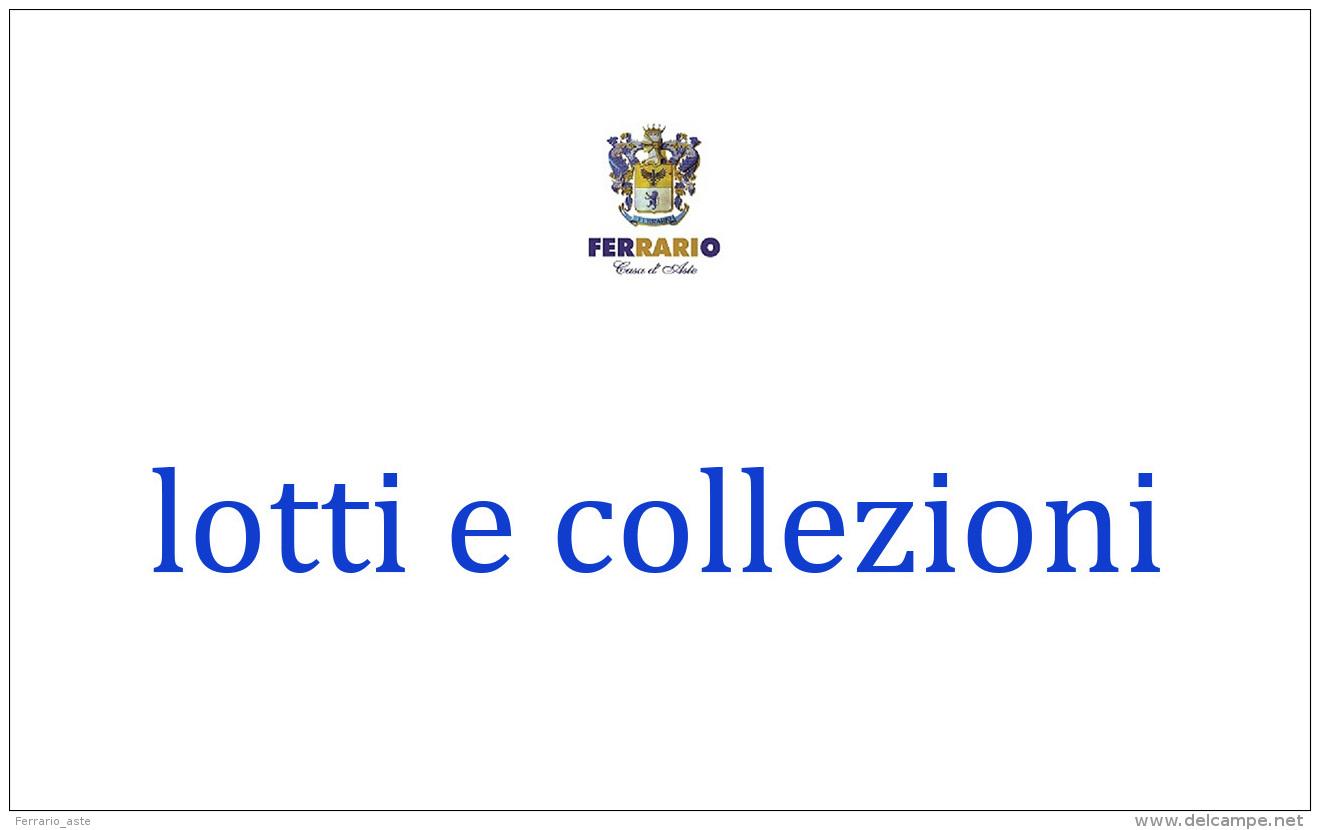 BELGIO 1849/1936 - Collezione Quasi Completa Del Periodo Montata Su Fogli Marini, Comprendente Anche... - Stamps