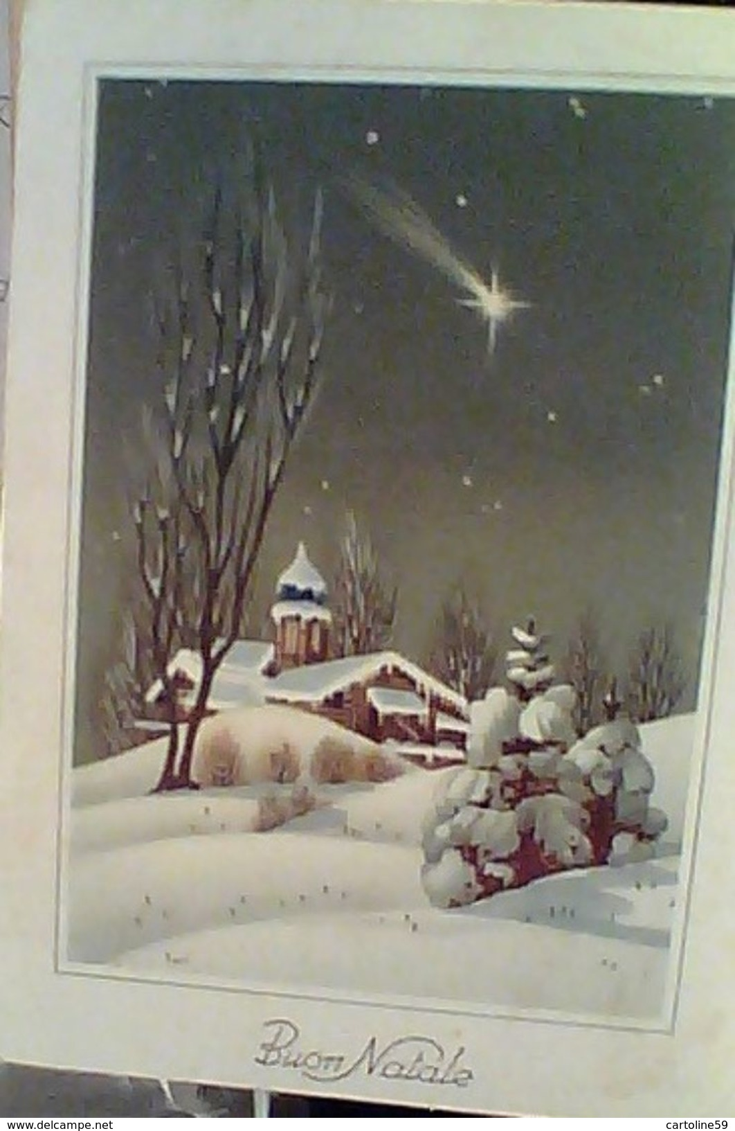 BUON NATALE  ILLUSTRATA VB1958 GC14500 - Natale
