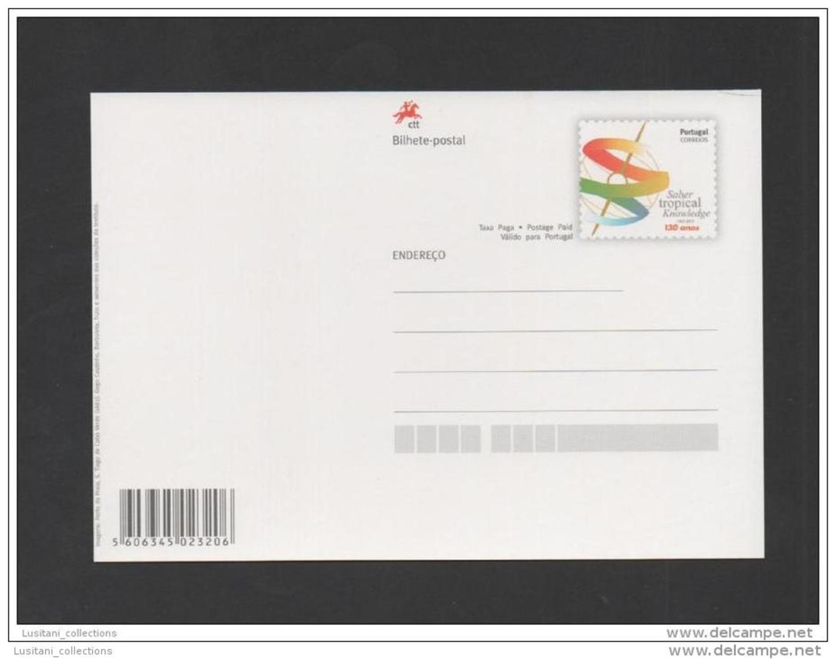 Postal Stationery PORTUGAL SCIENTIFIC TROPICAL INVESTIGATION INSTITUTE AFRICA CAP VERT CABO VERDE - Cap Vert