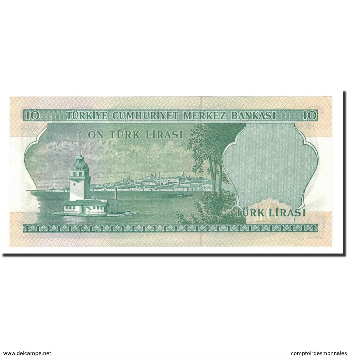 Turquie, 10 Lira, 1975, KM:186, NEUF - Türkei