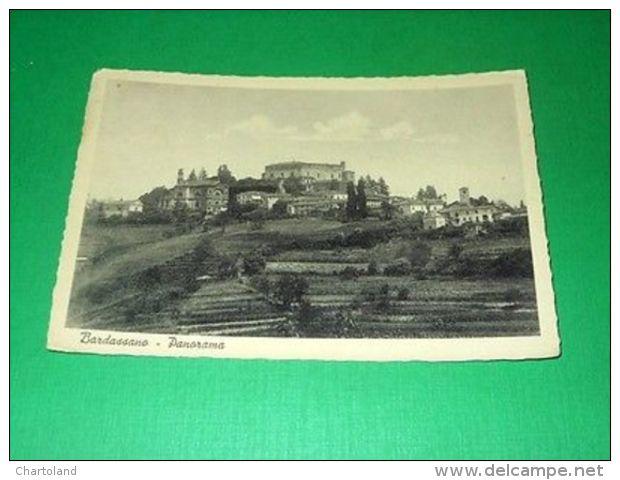 Cartolina Bardassano ( Torino ) - Panorama 1954 - Italie