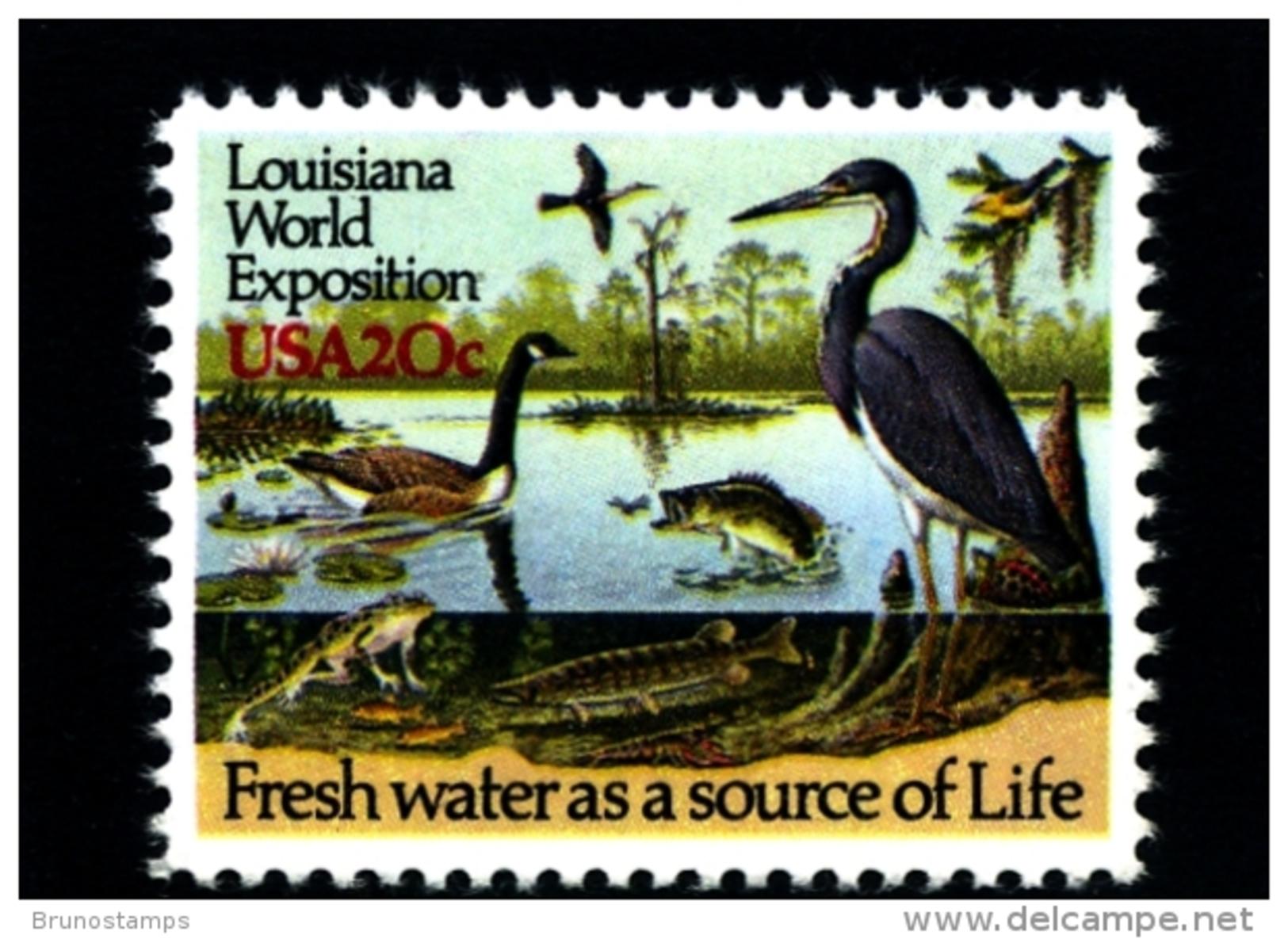 UNITED STATES/USA - 1984  LOUISIANA WORLD EXPOSITION  MINT NH - Stati Uniti