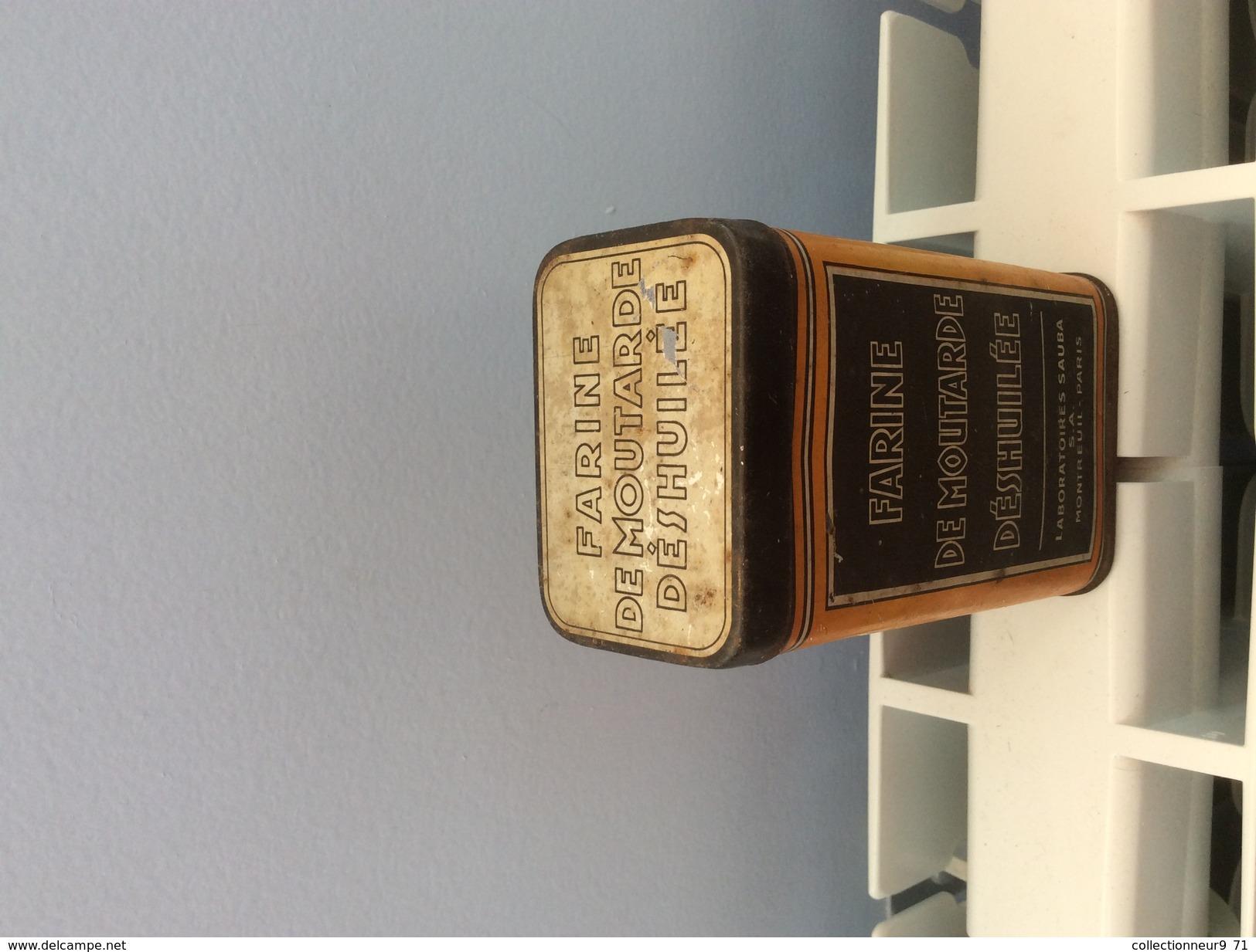 Ancienne Boite Publicitaire Années 30 Déco Collection - Boîtes