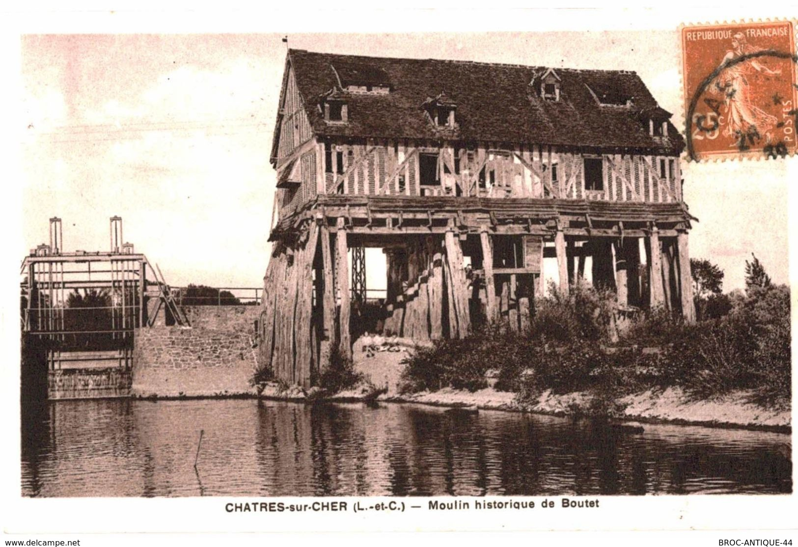 CPA N°664 -  CHARTRES SUR CHER - MOULIN HISTORIQUE DE BOUTET - Frankreich
