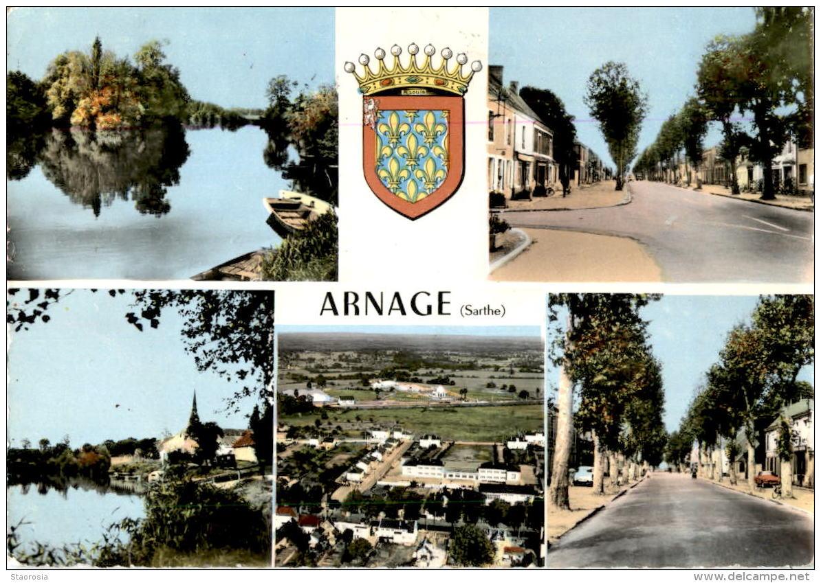 D72  ARNAGE  Multi- Vues  ..... - France
