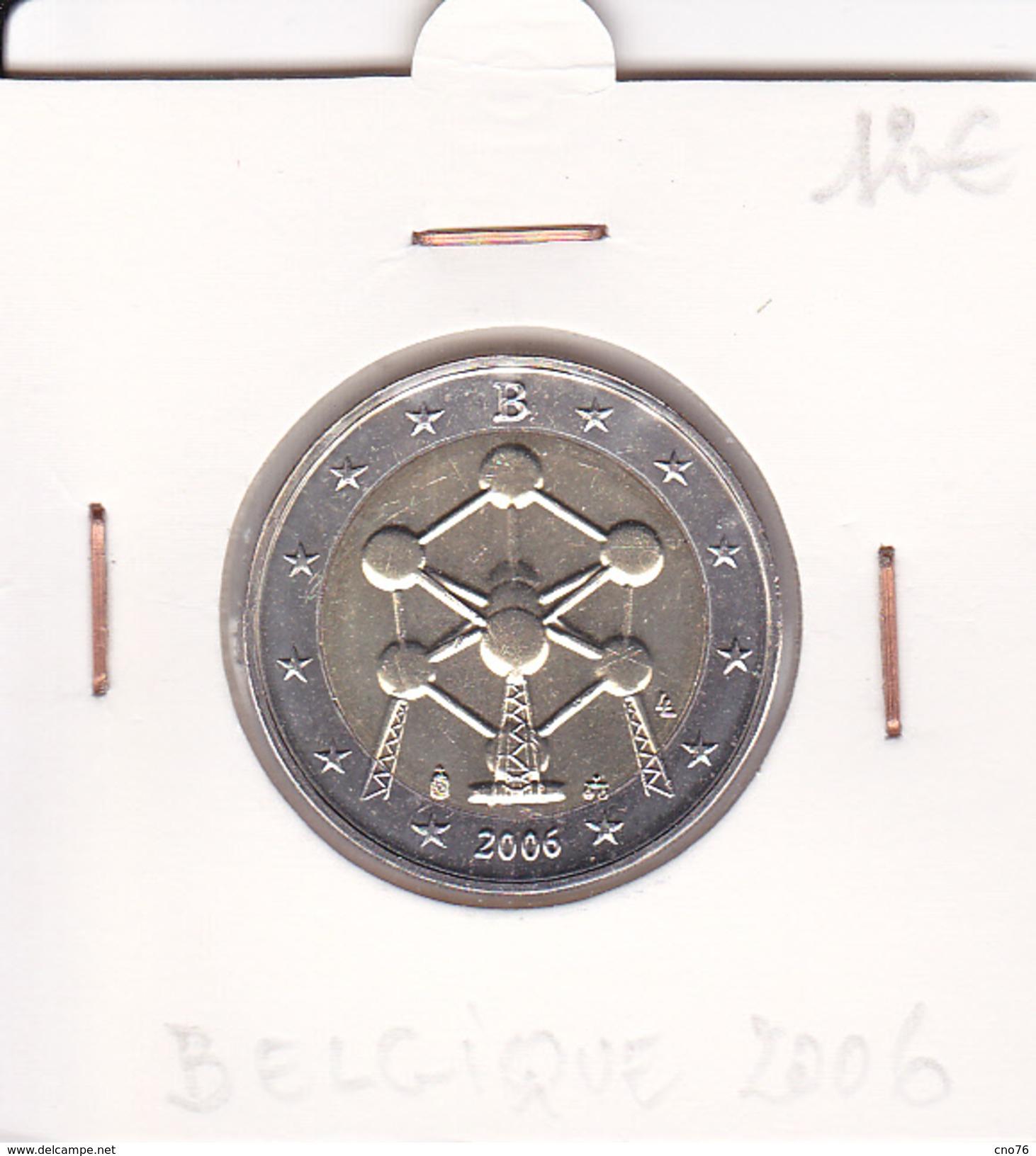 Belgique Pièce 2 Euro Commémorative Année 2006 - Bélgica