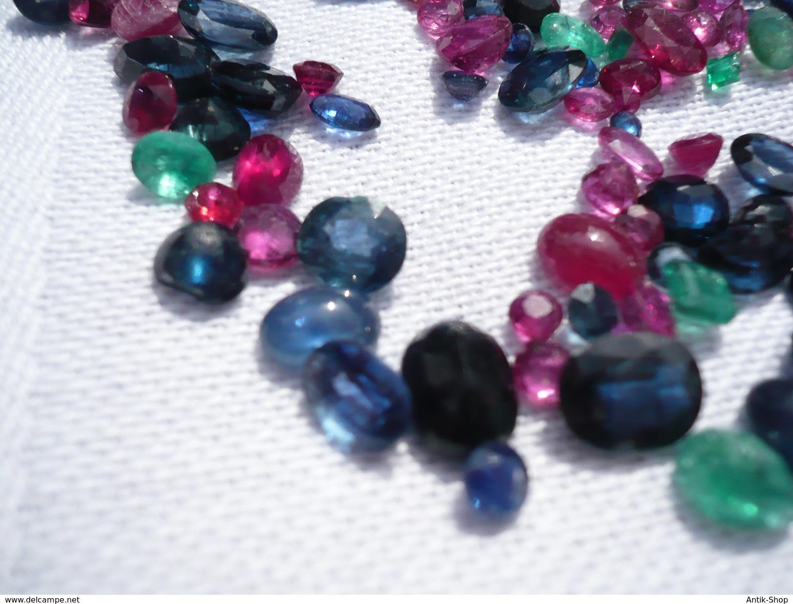 Rubine, Saphire Und Smaragde Zus. 85ct (400) - Non Classés