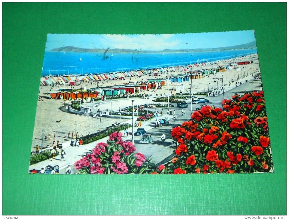 Cartolina Riviera Di Rimini - Spiaggia 1965 - Rimini
