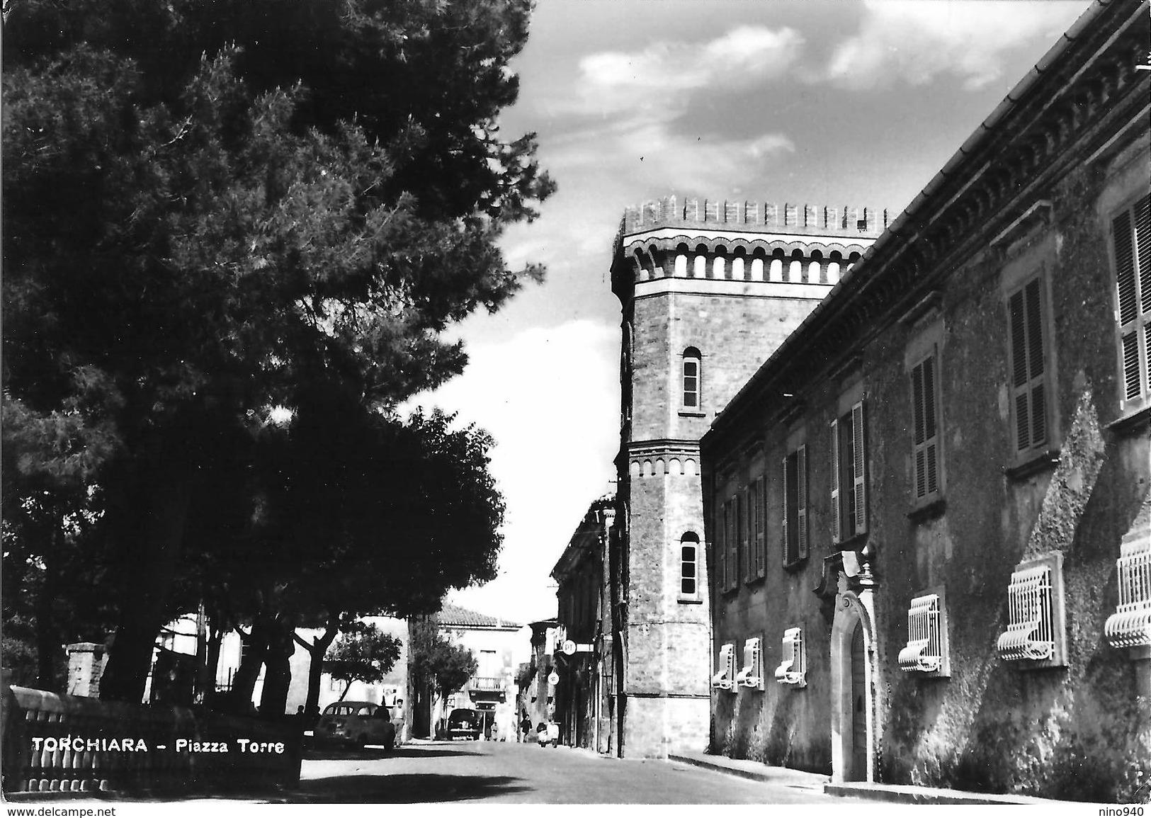 TORCHIARA (SA) - PIAZZA TORRE  - F/G - V.: 1965 - Italie