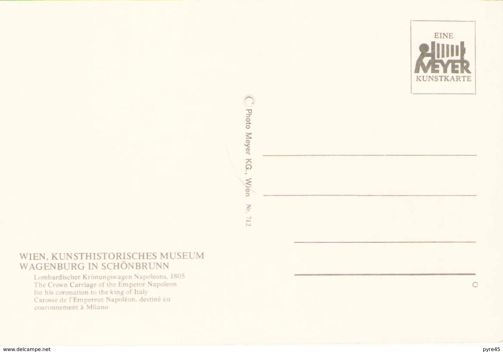 CAROSSE DE L EMPEREUR NAPOLEON DESTINE AU COURONNEMENT A MILANO - Taxi & Carrozzelle