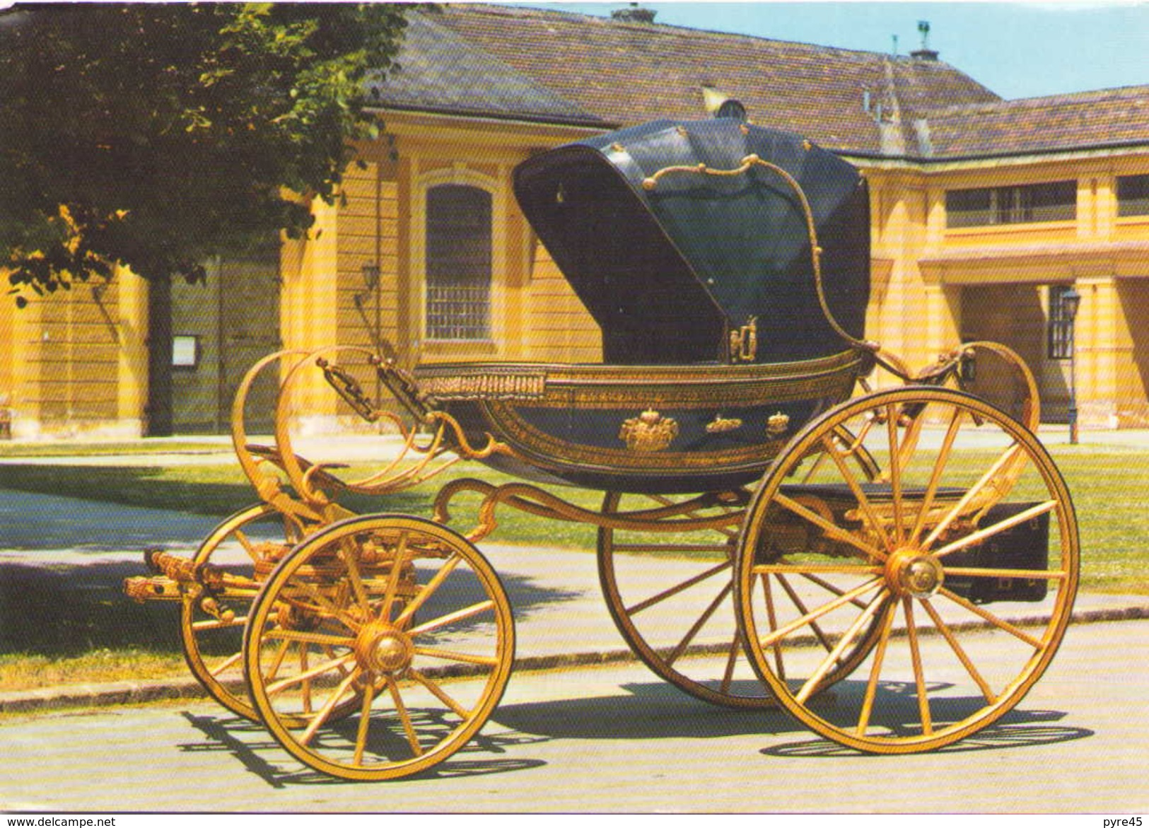 COUPE DE L EMPEREUR FRANZ I - Taxi & Carrozzelle