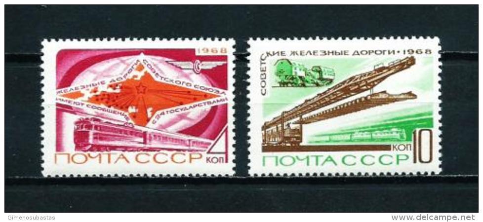 Rusia  Nº Yvert  3439/40  En Nuevo - 1923-1991 URSS