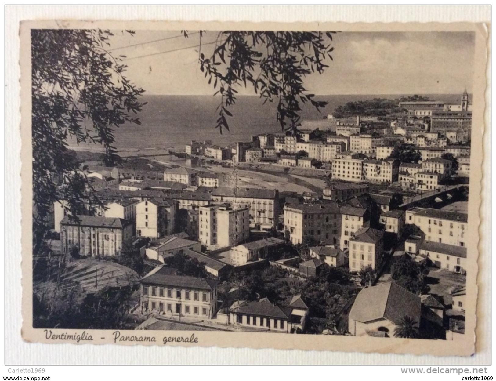 Ventimiglia Panorama Generale - Imperia