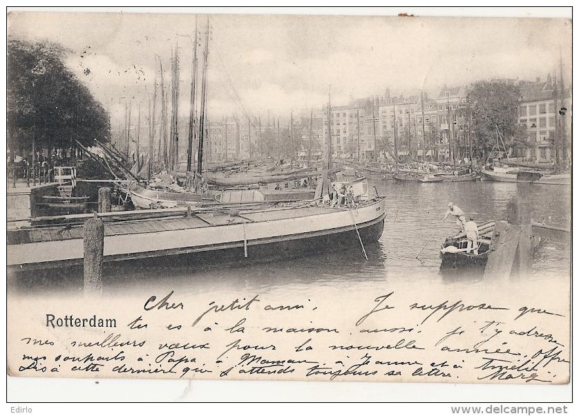 ROTTERDAM  Stamped 1902 TTB - Rotterdam