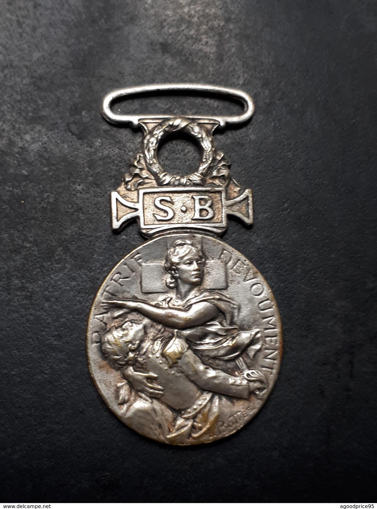 """MEDAILLE DE  : """"SECOURS AUX BLESSES MILITAIRES"""" - Avant 1871"""