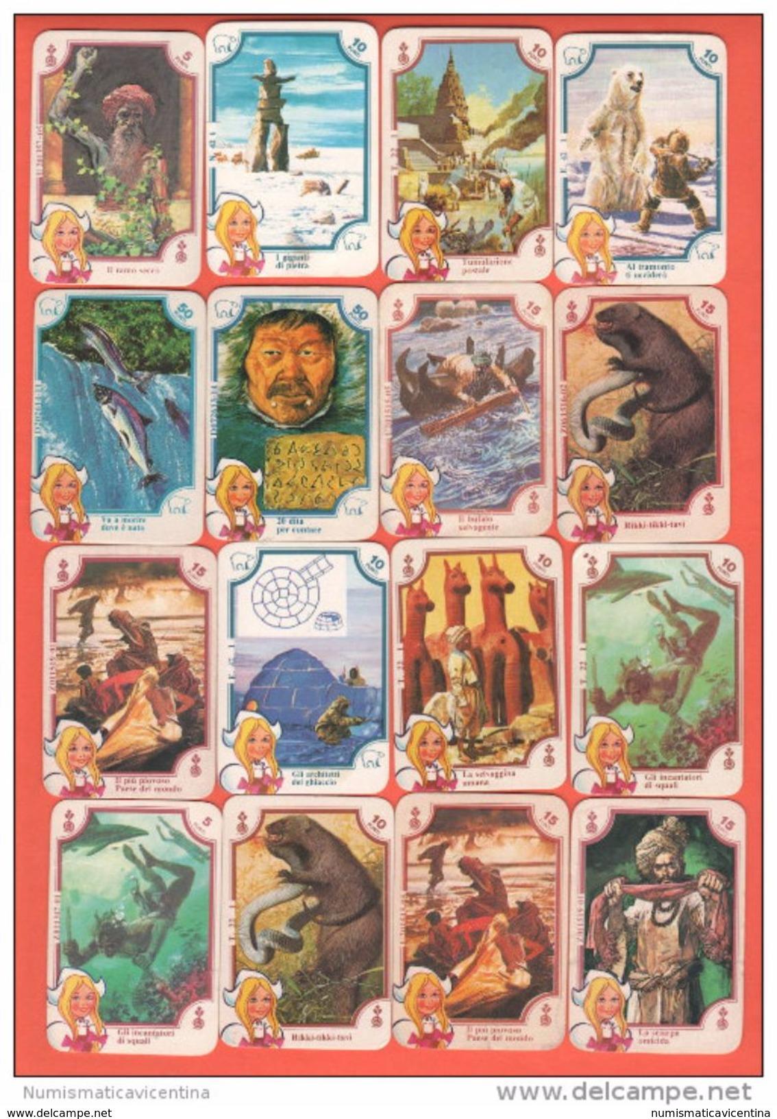 Mira Lanza 16 Mini Carte Da Gioco Anni 60.... - Carte Da Gioco