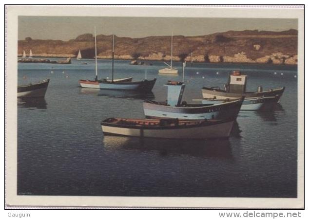 CPM - PEINTRE De BRETAGNE - COULIOU - PORT MANECH - Barques Au Repos - Edition ? - Autres Communes