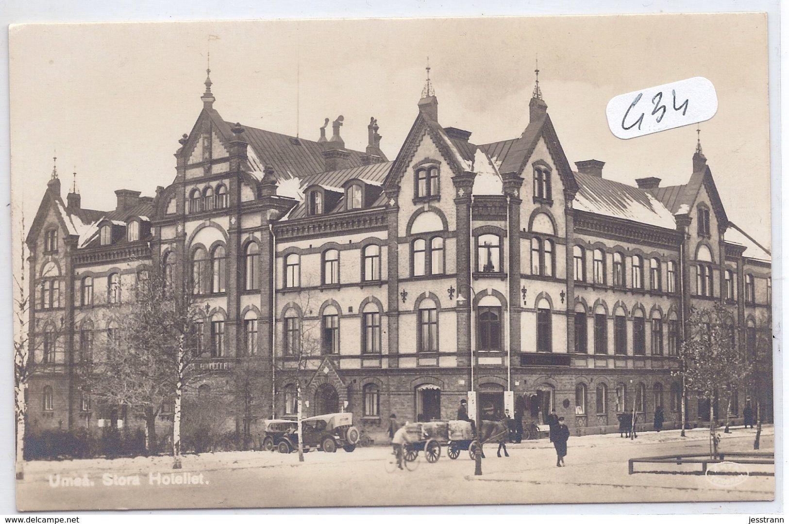 UMAA- STORA HOTELLET - Zweden